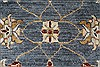 Ziegler Beige Hand Knotted 30 X 53  Area Rug 250-27372 Thumb 5