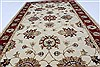 Ziegler Red Hand Knotted 30 X 50  Area Rug 250-27374 Thumb 4
