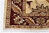 Pishavar Beige Hand Knotted 34 X 49  Area Rug 250-27381 Thumb 6