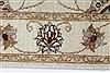 Ziegler Beige Hand Knotted 30 X 53  Area Rug 250-27386 Thumb 4
