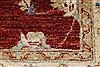 Pishavar Red Hand Knotted 35 X 411  Area Rug 250-27396 Thumb 9