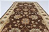 Ziegler Beige Hand Knotted 211 X 53  Area Rug 250-27398 Thumb 4