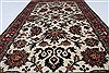 Kashmar Blue Hand Knotted 211 X 51  Area Rug 250-27404 Thumb 1