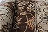 Pishavar Beige Hand Knotted 211 X 52  Area Rug 250-27405 Thumb 12