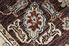 Pishavar Beige Hand Knotted 211 X 53  Area Rug 250-27425 Thumb 9