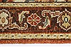 Serapi Brown Hand Knotted 211 X 40  Area Rug 250-27433 Thumb 2