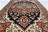 Serapi Brown Hand Knotted 210 X 411  Area Rug 250-27436 Thumb 1