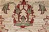 Pishavar Beige Hand Knotted 32 X 46  Area Rug 250-27441 Thumb 9