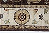 Ziegler Beige Hand Knotted 30 X 53  Area Rug 250-27442 Thumb 2