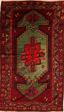 "Kazak Red Hand Knotted 5'9"" X 9'9""  Area Rug 100-27466"