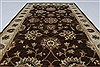 Ziegler Beige Hand Knotted 30 X 411  Area Rug 250-27481 Thumb 4