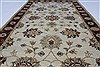 Ziegler Beige Hand Knotted 30 X 411  Area Rug 250-27485 Thumb 6