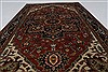 Serapi Brown Hand Knotted 30 X 50  Area Rug 250-27498 Thumb 2
