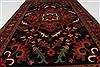 Heriz Red Hand Knotted 30 X 411  Area Rug 250-27511 Thumb 3