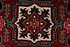 Heriz Red Hand Knotted 30 X 411  Area Rug 250-27511 Thumb 5