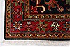 Heriz Red Hand Knotted 30 X 411  Area Rug 250-27511 Thumb 6