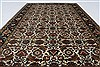 Herati Beige Hand Knotted 30 X 410  Area Rug 250-27513 Thumb 3
