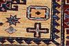 Kazak Yellow Hand Knotted 35 X 48  Area Rug 250-27535 Thumb 10