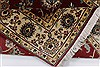 Isfahan Beige Hand Knotted 31 X 410  Area Rug 250-27596 Thumb 2