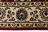Isfahan Beige Hand Knotted 31 X 410  Area Rug 250-27596 Thumb 5