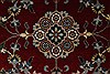 Isfahan Beige Hand Knotted 31 X 410  Area Rug 250-27596 Thumb 6