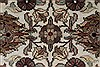 Kashan Brown Hand Knotted 31 X 51  Area Rug 250-27599 Thumb 4