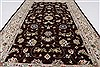 Tabriz Beige Hand Knotted 30 X 50  Area Rug 250-27603 Thumb 4