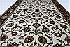 Kashan Beige Hand Knotted 32 X 51  Area Rug 250-27607 Thumb 3
