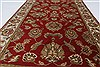 Kashan Beige Hand Knotted 211 X 51  Area Rug 250-27609 Thumb 3