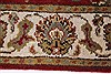 Kashan Beige Hand Knotted 211 X 51  Area Rug 250-27609 Thumb 4
