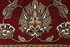 Kashan Beige Hand Knotted 211 X 51  Area Rug 250-27609 Thumb 8
