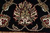 Kashan Beige Hand Knotted 30 X 52  Area Rug 250-27616 Thumb 8