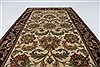 Kashan Green Hand Knotted 30 X 52  Area Rug 250-27643 Thumb 2
