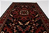 Karajeh Red Hand Knotted 211 X 410  Area Rug 250-27645 Thumb 1