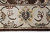 Kashmar Beige Hand Knotted 211 X 53  Area Rug 250-27651 Thumb 4