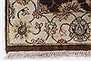 Kashmar Beige Hand Knotted 211 X 53  Area Rug 250-27651 Thumb 6