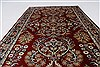 Sarouk Blue Hand Knotted 211 X 411  Area Rug 250-27652 Thumb 3