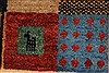 Gabbeh Multicolor Hand Knotted 36 X 410  Area Rug 250-27660 Thumb 8