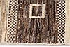 Gabbeh Beige Hand Knotted 36 X 51  Area Rug 250-27668 Thumb 4