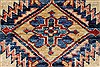 Kazak Beige Hand Knotted 211 X 49  Area Rug 250-27682 Thumb 2