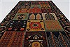 Bakhtiar Multicolor Hand Knotted 31 X 54  Area Rug 250-27714 Thumb 2