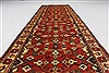 Turkman Beige Runner Hand Knotted 210 X 99  Area Rug 250-27742 Thumb 1