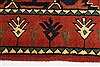 Kazak Red Runner Hand Knotted 211 X 99  Area Rug 250-27784 Thumb 3