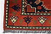 Kazak Red Runner Hand Knotted 211 X 99  Area Rug 250-27784 Thumb 5