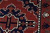 Kazak Red Runner Hand Knotted 211 X 99  Area Rug 250-27784 Thumb 7