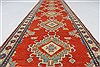 Kazak Red Runner Hand Knotted 211 X 106  Area Rug 250-27794 Thumb 2