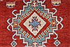 Kazak Red Runner Hand Knotted 211 X 106  Area Rug 250-27794 Thumb 4
