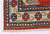 Kazak Red Runner Hand Knotted 211 X 106  Area Rug 250-27794 Thumb 5