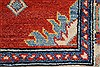 Kazak Red Runner Hand Knotted 211 X 106  Area Rug 250-27794 Thumb 7