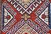 Kazak Red Runner Hand Knotted 26 X 105  Area Rug 250-27799 Thumb 1